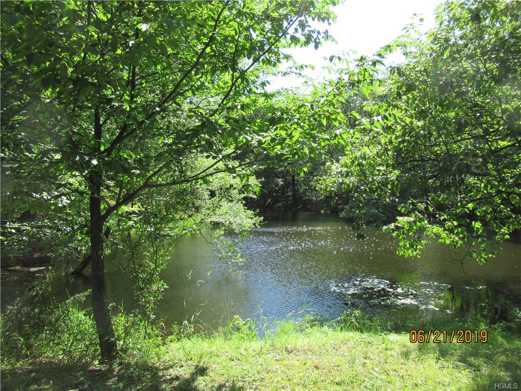 Beautiful 8+ acre lot with pond, privacy and a serene setting.
